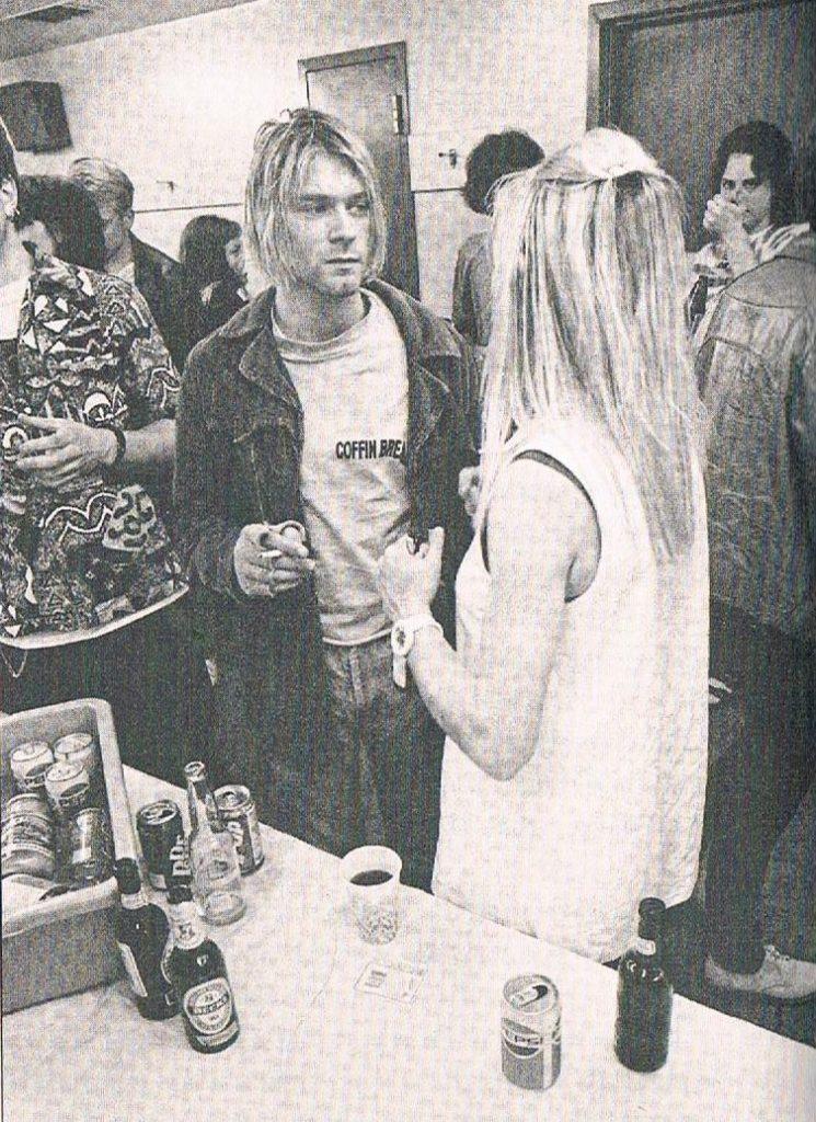 Kim Gordon i Kurt Cobain