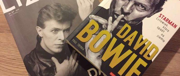 """David Bowie, czyli """"Starman. Człowiek, który spadł na Ziemię"""" Paula Trynki"""