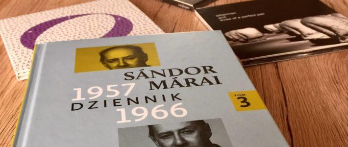"""Zapiski z podróży, czyli """"Dziennik 1957–1966"""" Sándora Máraiego"""