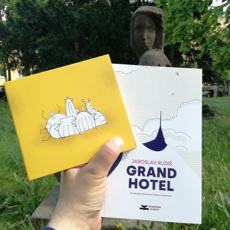 Rudiš, Grandhotel - recenzja